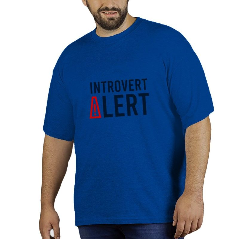 85844726 introvert life plus size t shirt royal blue front.jpg