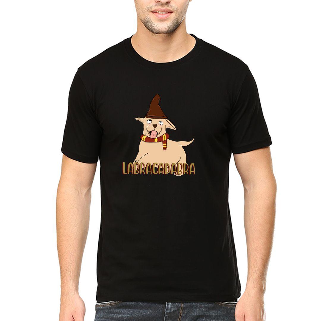 8dad0ac4 Labracadabra Men T Shirt Black Front.jpg