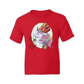a2c42ecf uni pop corn kids t shirt red front.jpg