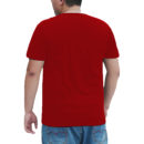 aeac72c9 plus size t shirt red back
