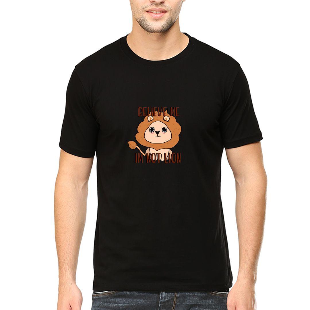 Aff65ccf Not Lion Men T Shirt Black Front.jpg
