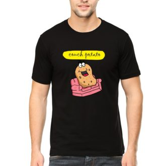 d9c4059a couch potato for chilling and relaxing men t shirt black front.jpg