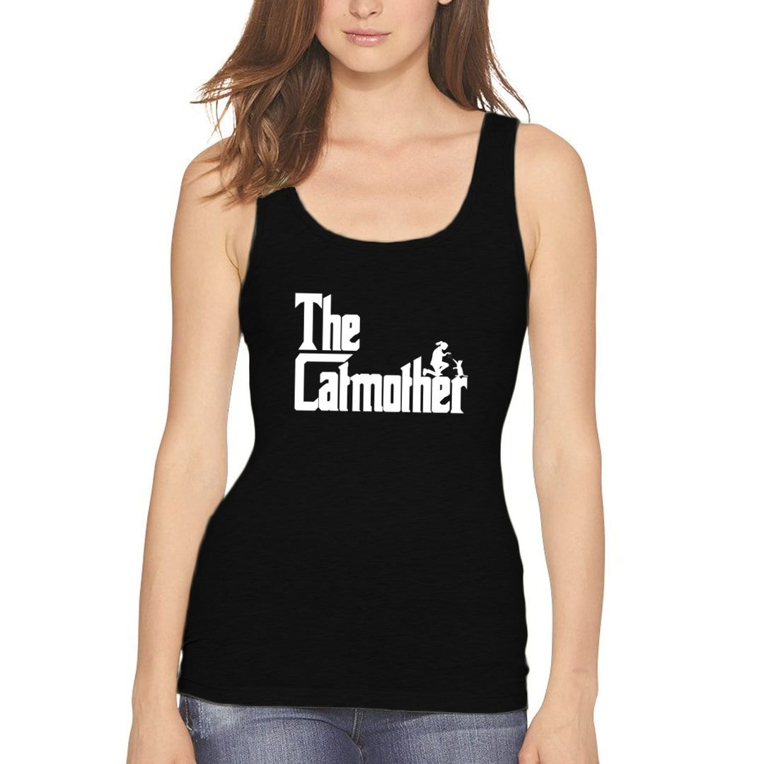 Ea504149 The Catmother Classic Movie Pet Owner Dog Lover Gift Women Tank Top Black Front.jpg