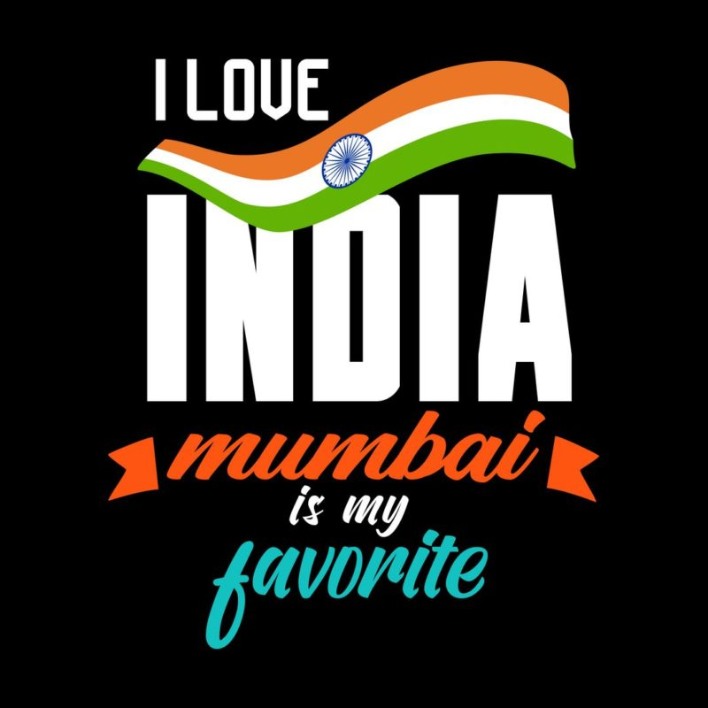 5387692c i love india mumbai is my favoriteblack