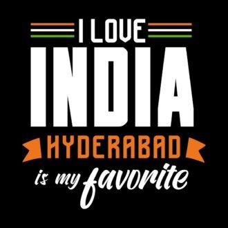 909398f4 i love india hyderabad is my favoriteblack