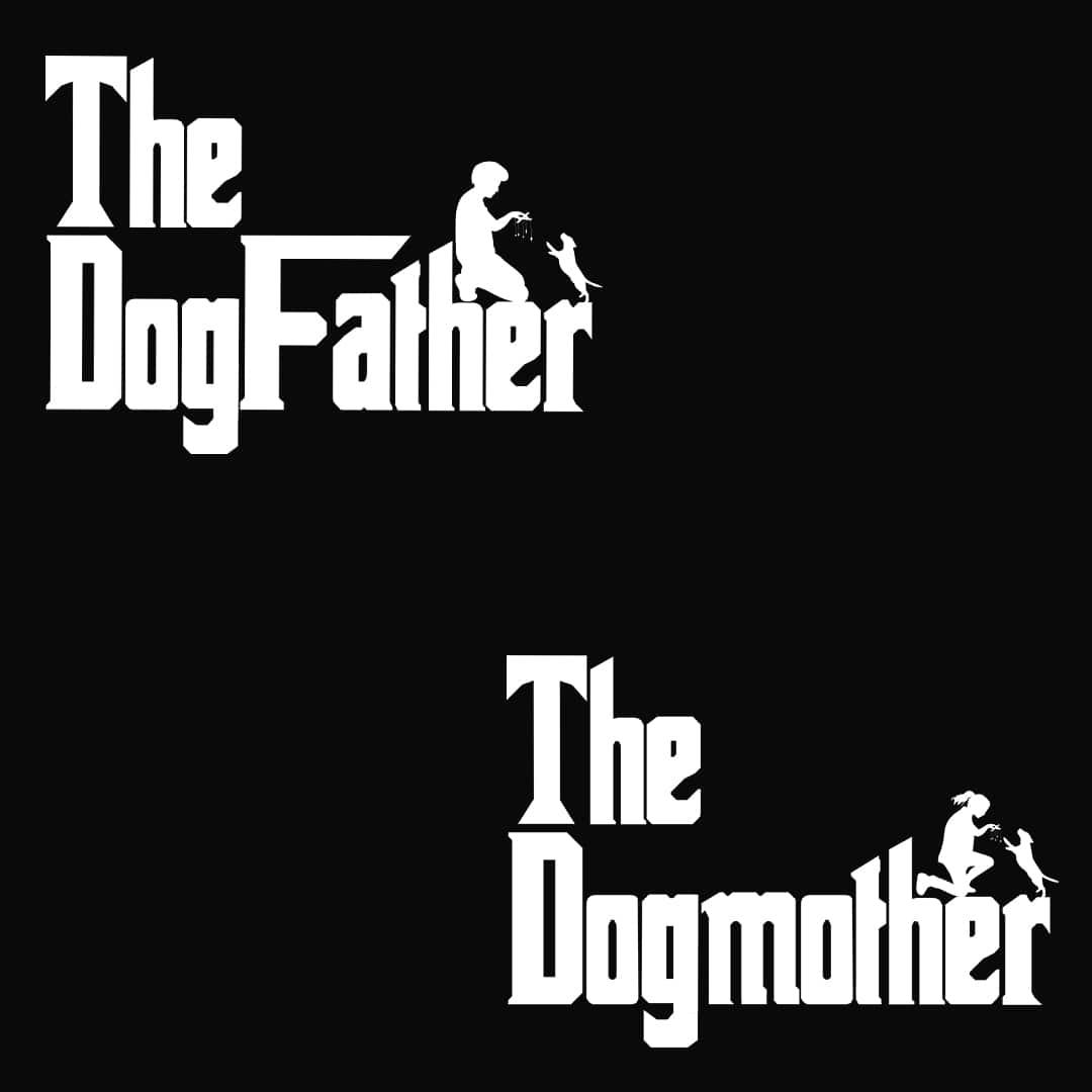 9b5b85c2 Dog Father Dog Mother Couple T Shirts India Design