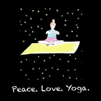c2cb963f peace love yoga for yoga fitness health sport loversblack