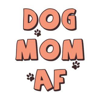 e77bef47 dog mom af for dog lover pet ownerwhite