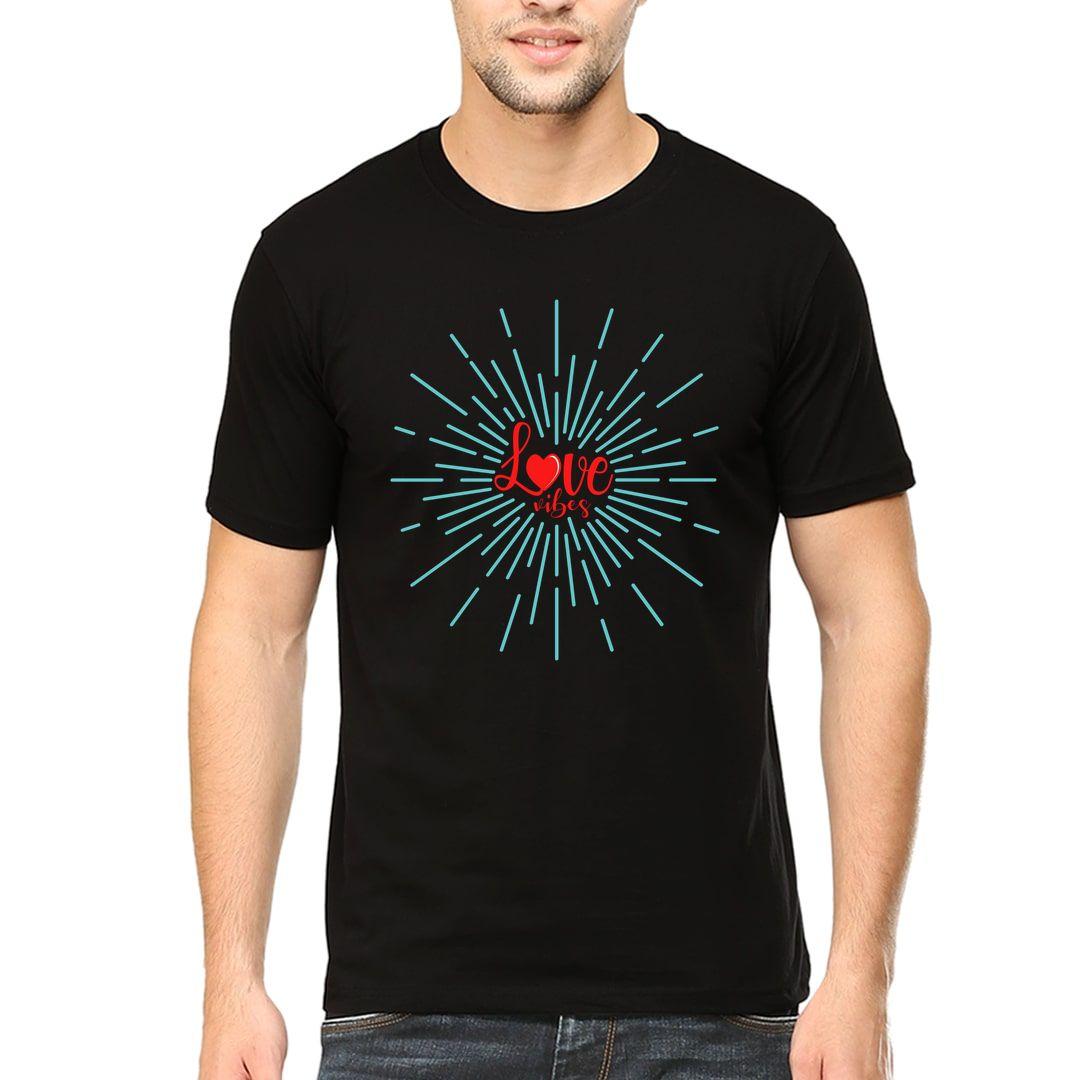 Eb1783ff Love Vibes Men T Shirt Black Front.jpg