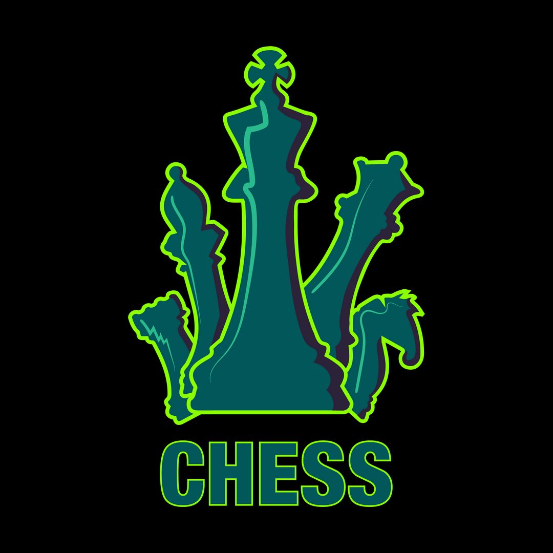 05fc1bde Bright And Colourful Design For Chess Playersblack