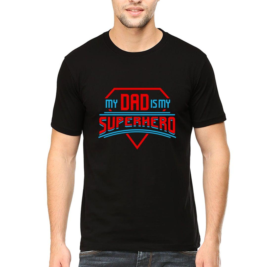 285dab20 My Dad Is My Superhero Men T Shirt Black Front.jpg