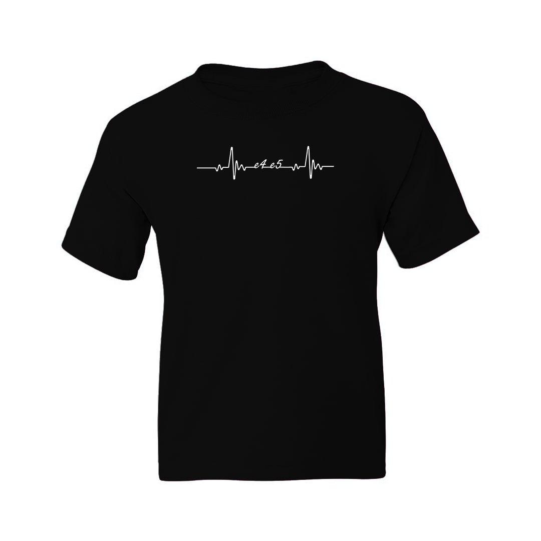 Chess King Heartbeat T-Shirt Design