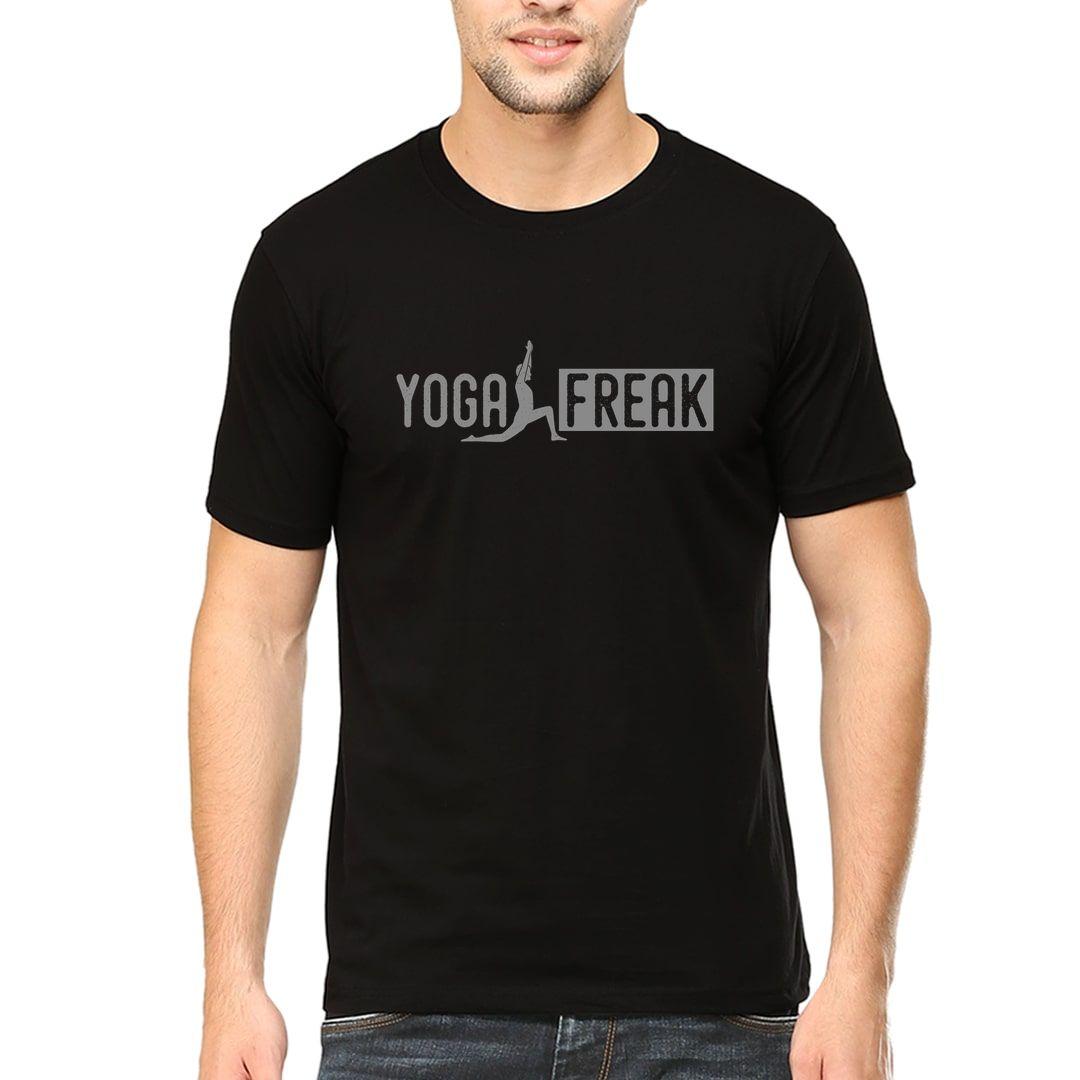 8fdf404f Yoga Freak Men T Shirt Black Front.jpg