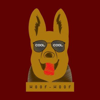 bd1a072a cool dog for pet loversmaroon