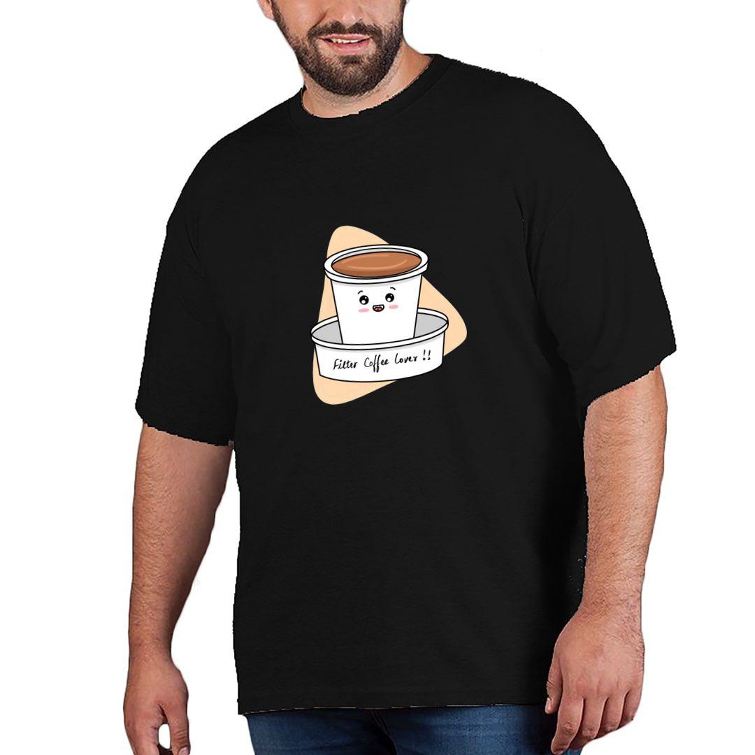 Ec1d2a3c Filter Coffee Lover Plus Size T Shirt Black Front.jpg