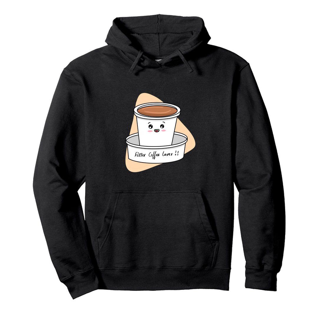 Ec1d2a3c Filter Coffee Lover Unisex Hooded Sweatshirt Hoodie Black Front.jpg
