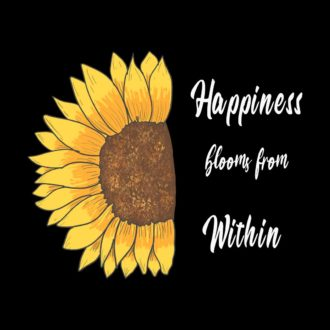 15cd2d1a happiness blooms from within nature inspired happy floral designblack