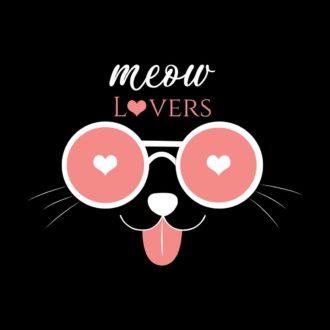 1941abc0 meow lovers black