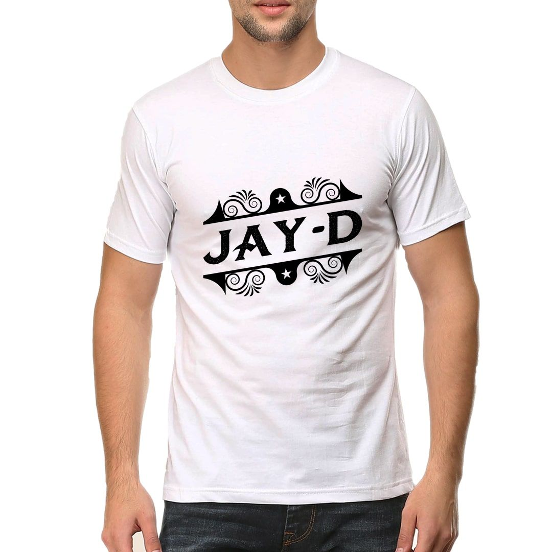 28fb070a Jay D Creative Typography Men T Shirt White Front.jpg