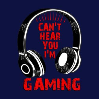 3fb76682 gaming t shirt navy blue