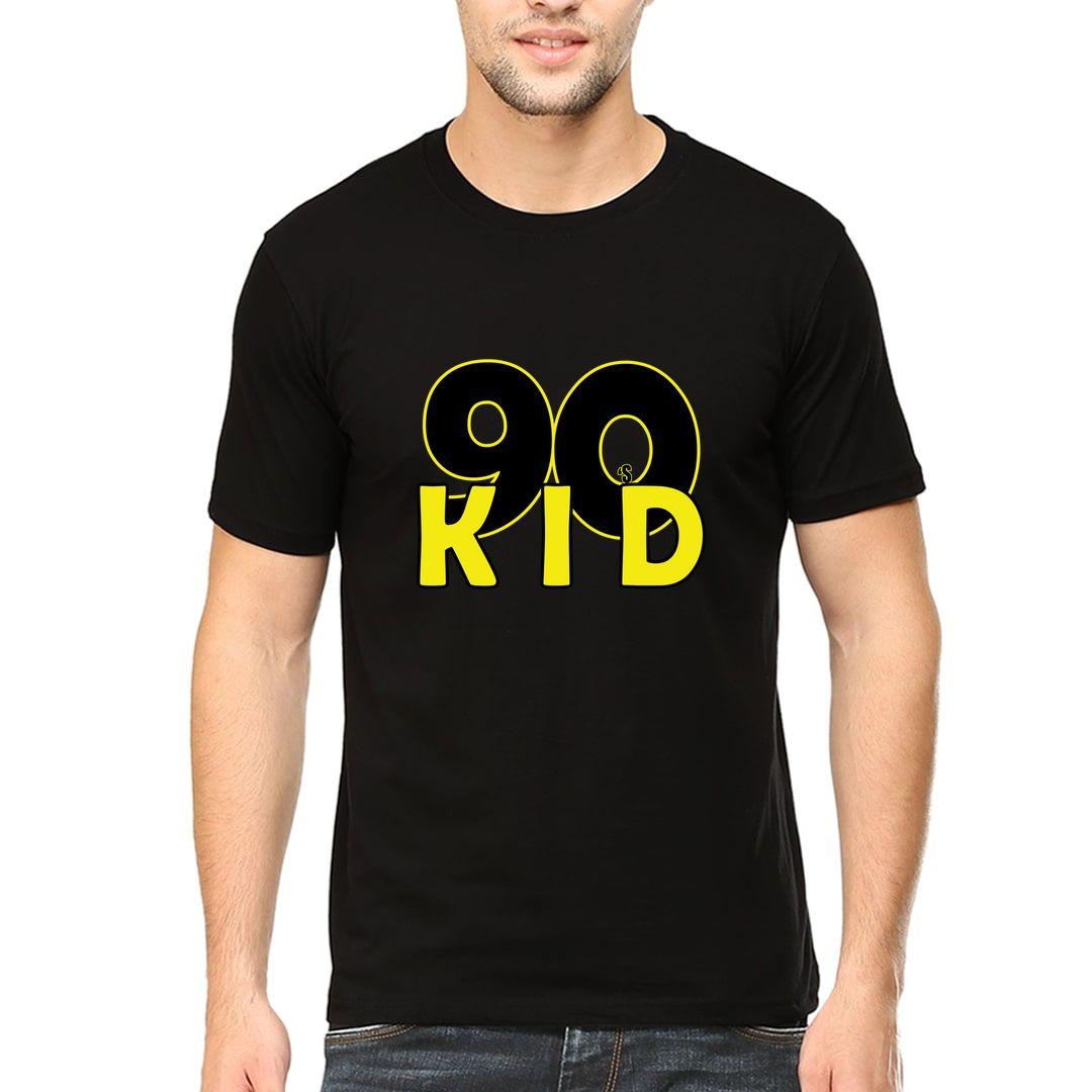 6d3fdf27 90s Kid Men T Shirt Black Front.jpg
