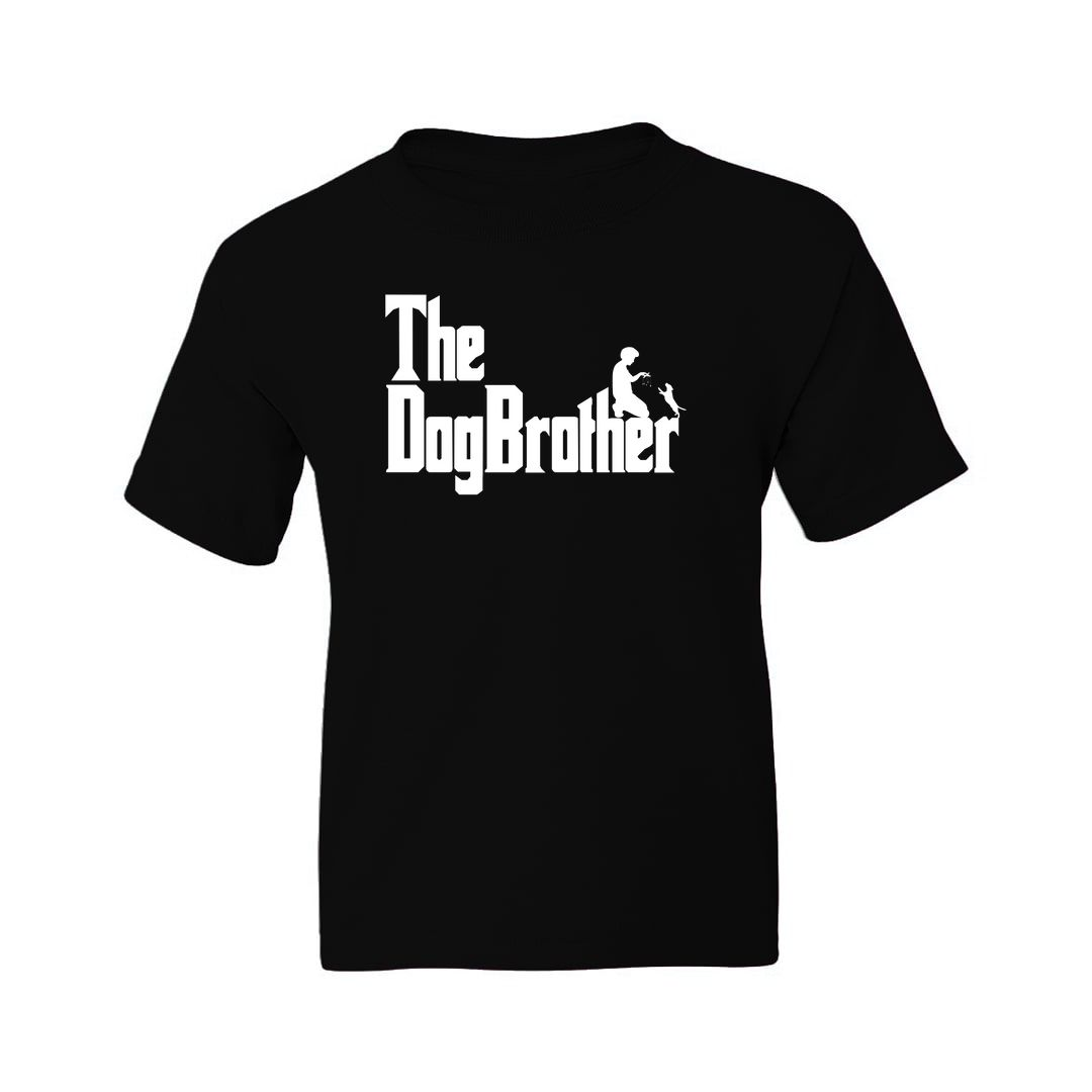753d004a The Dogbrother Classic Movie Gift For Dog Lovers Kids T Shirt Black Front.jpg