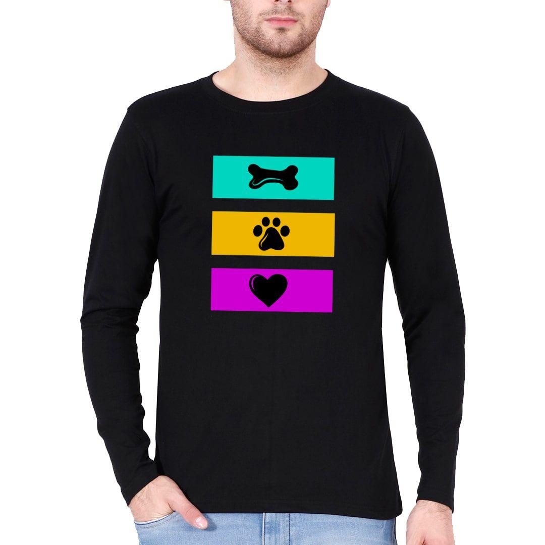 888783cf Eat Play Love For Dog Lovers Full Sleeve Men T Shirt Black Front.jpg