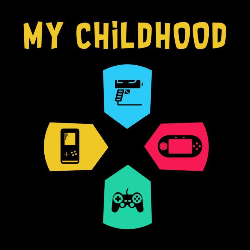 89a521d7 my childhood 90s kids gaming video games nostalgiablack