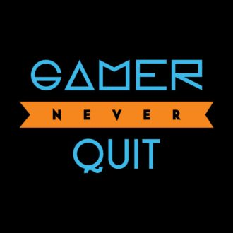 9604906e gamer never quit black