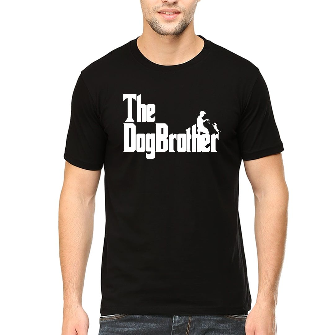 Ab8f7b22 The Dogbrother Classic Movie Gift For Dog Lovers Men T Shirt Black Front.jpg
