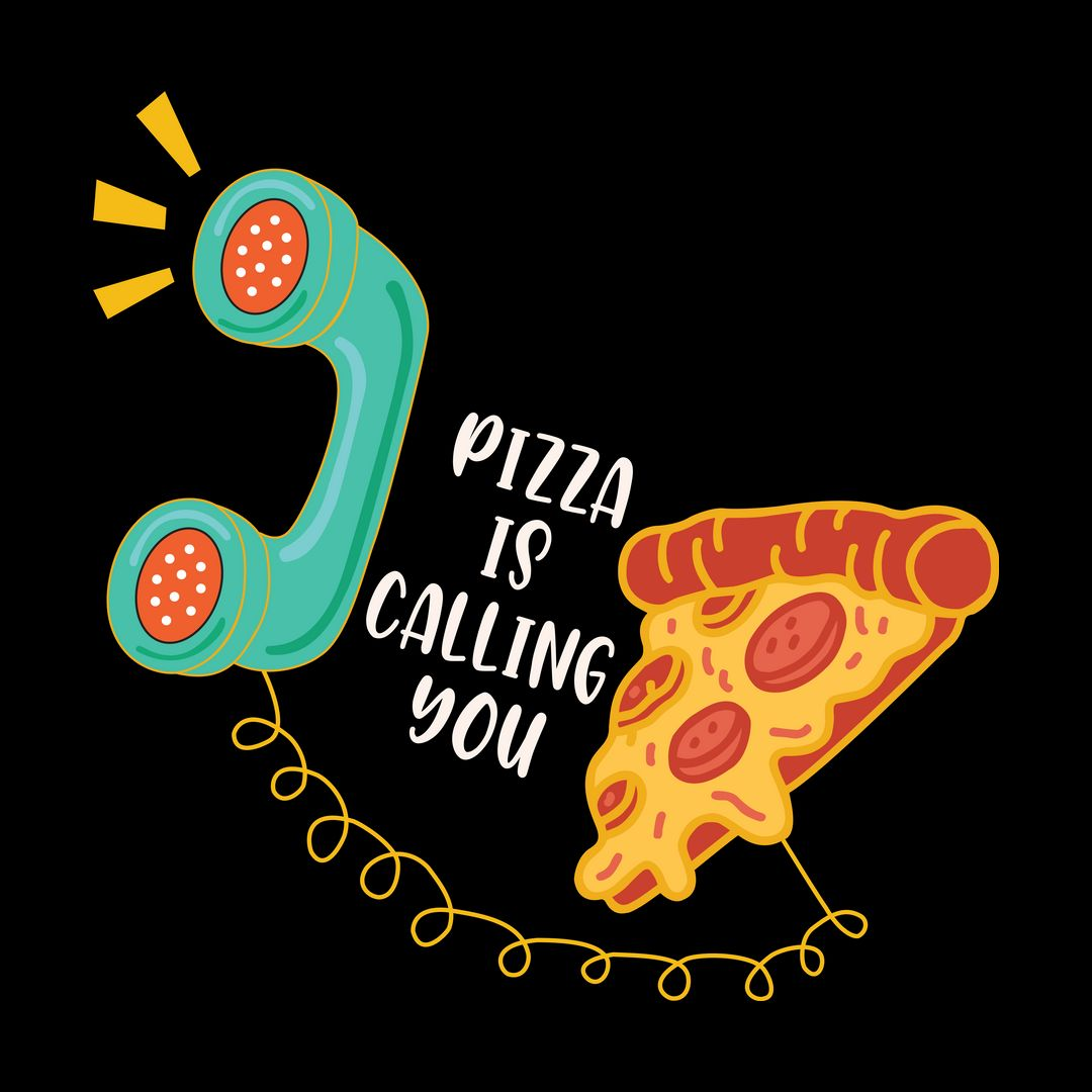 D874c2bc Pizza Is Calling Youblack