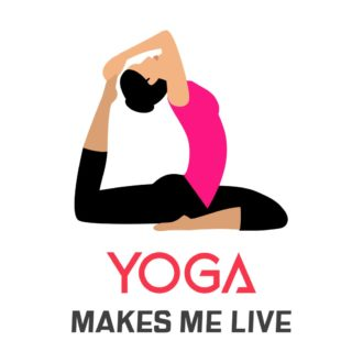 3697f46d yoga makes me live white