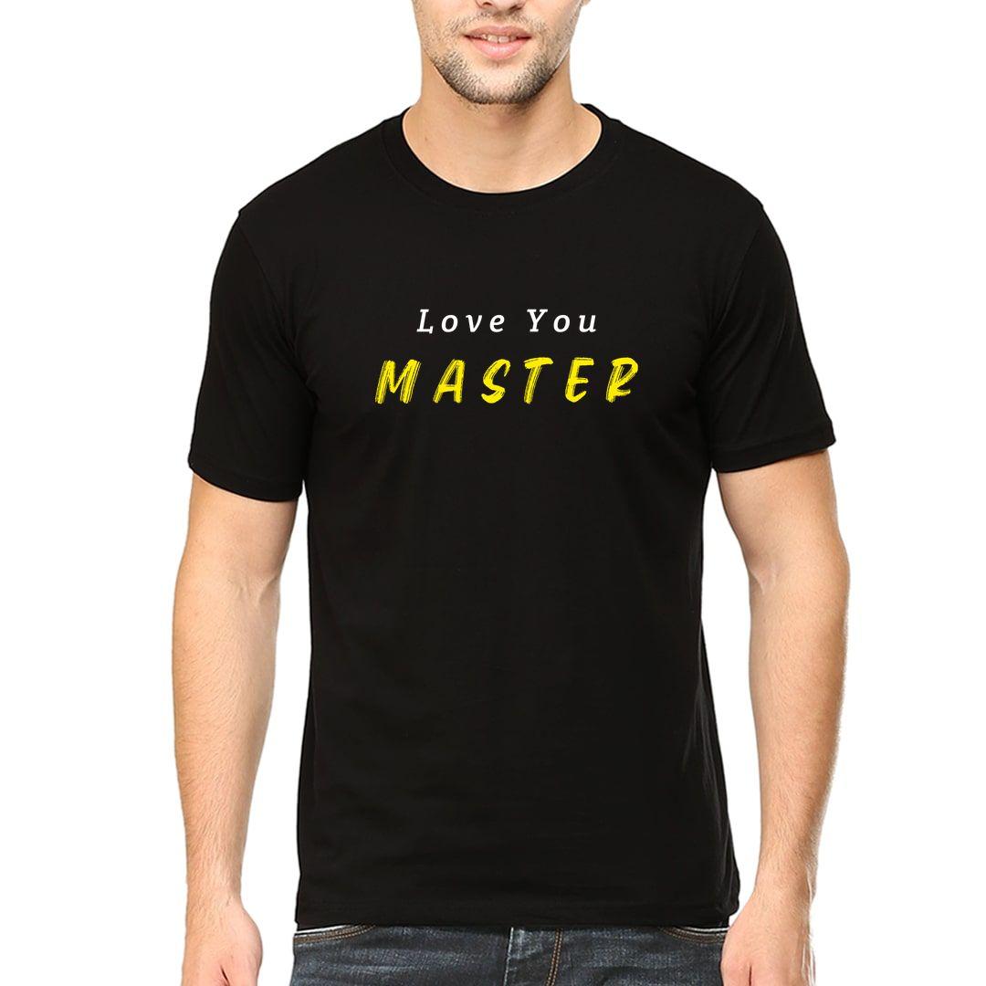 8c356588 Love You Master Men T Shirt Black Front.jpg