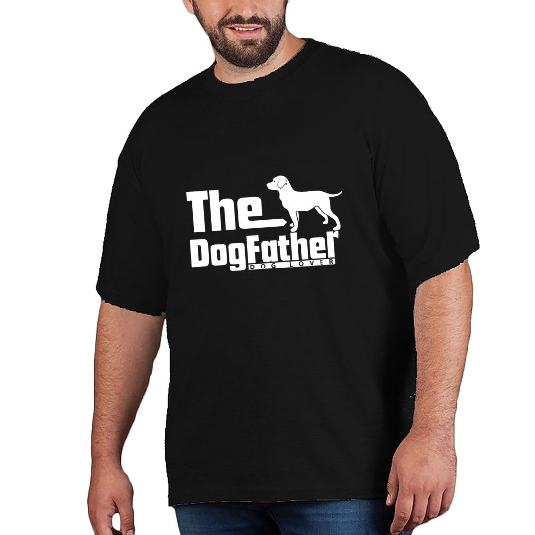 Be07e383 The Dog Father Plus Size T Shirt Black Front.jpg
