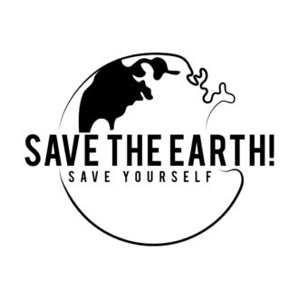 ce9c3ef7 save the earth and save yourself white