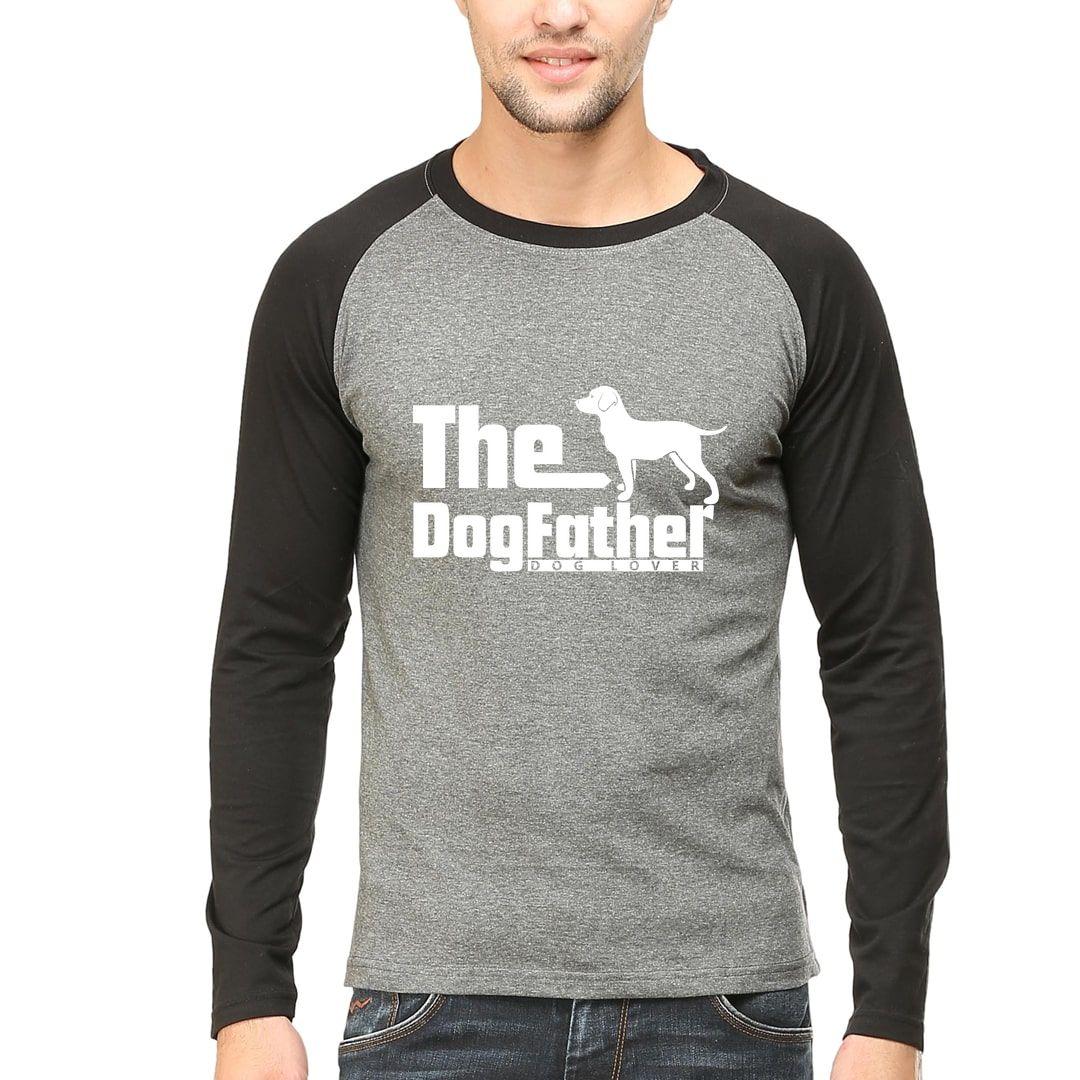 F2c5e27f The Dog Father Men Raglan Full Sleeve T Shirt Black Charcoal Front.jpg