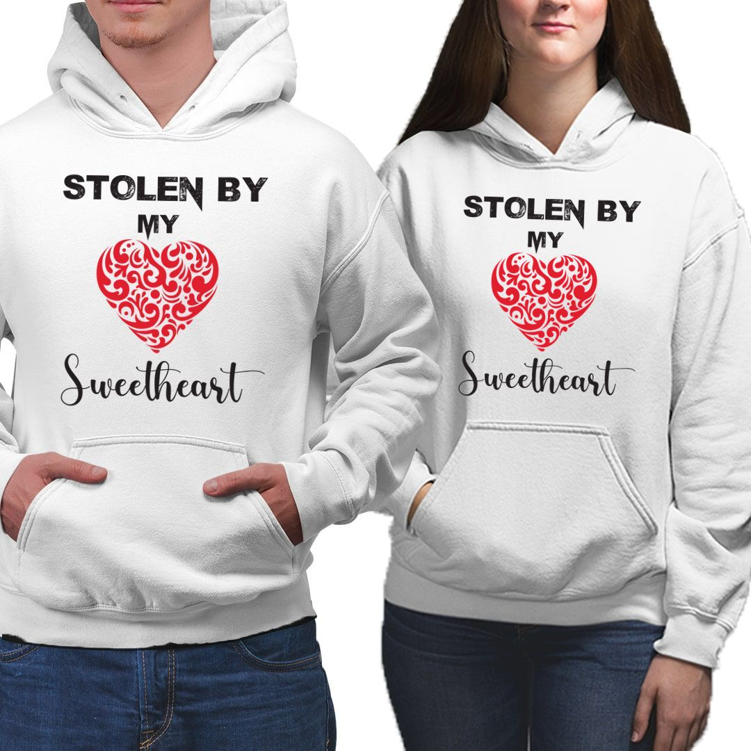 02ca5406 Stolen By My Sweetheart Couple Hoodies 1