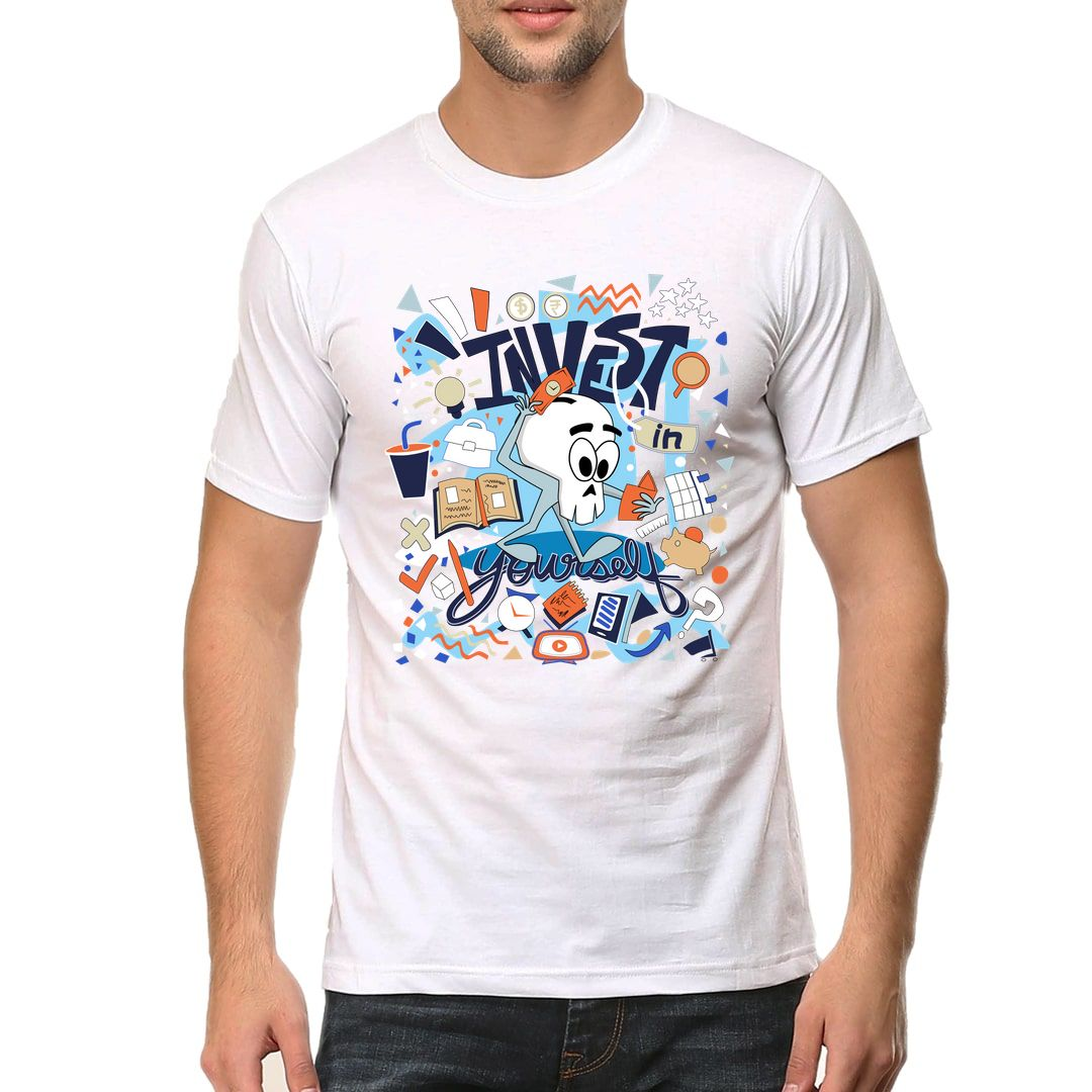 0e8eaa03 Invest In Yourself Men T Shirt White Front.jpg