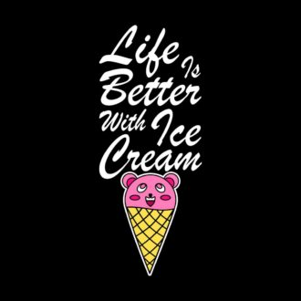 0ea1ece2 life is better with ice cream black