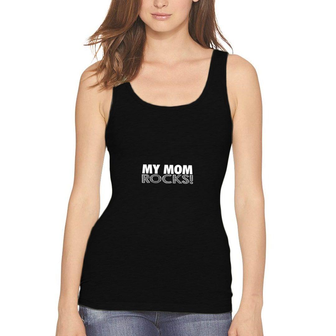 33dcdd5b My Mom Rocks Women Tank Top Black Front.jpg