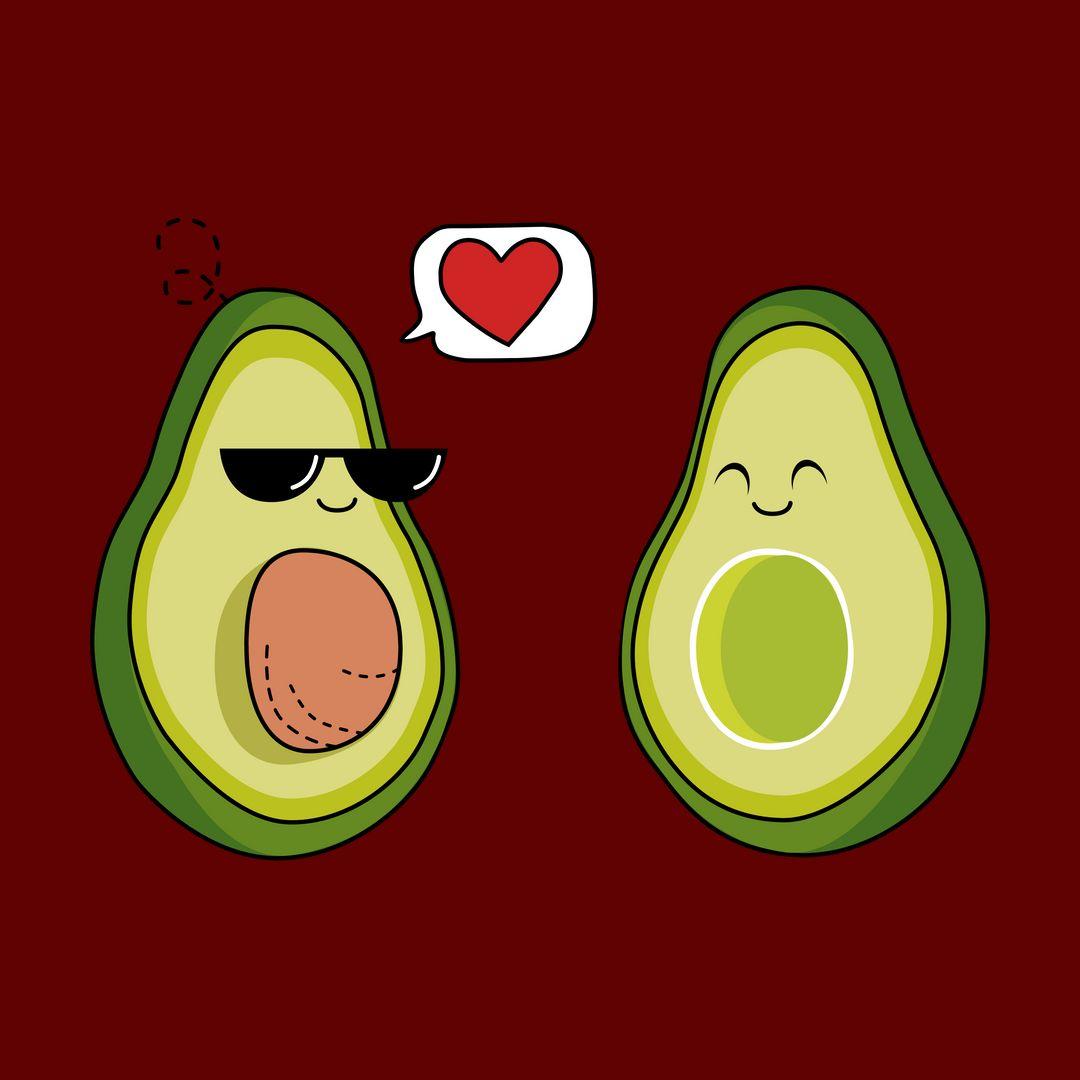 3b914797 Avocado Couple Maroon