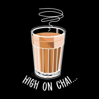 be189395 high on chai... black