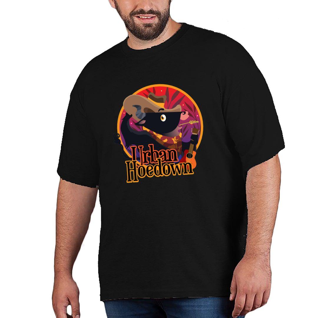 Cf29c51b Urban Hoedown Plus Size T Shirt Black Front.jpg