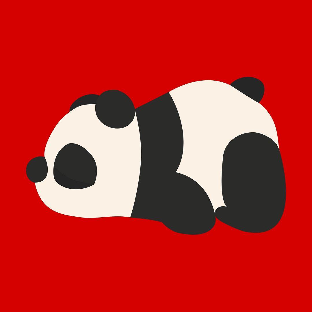 6f1a70cb Cute Panda Red