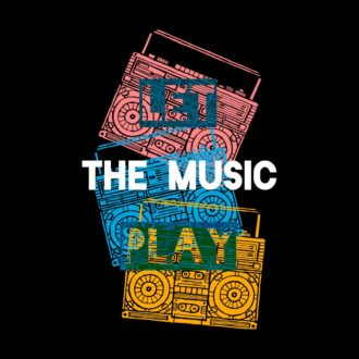 77f0ec67 let the music play design black