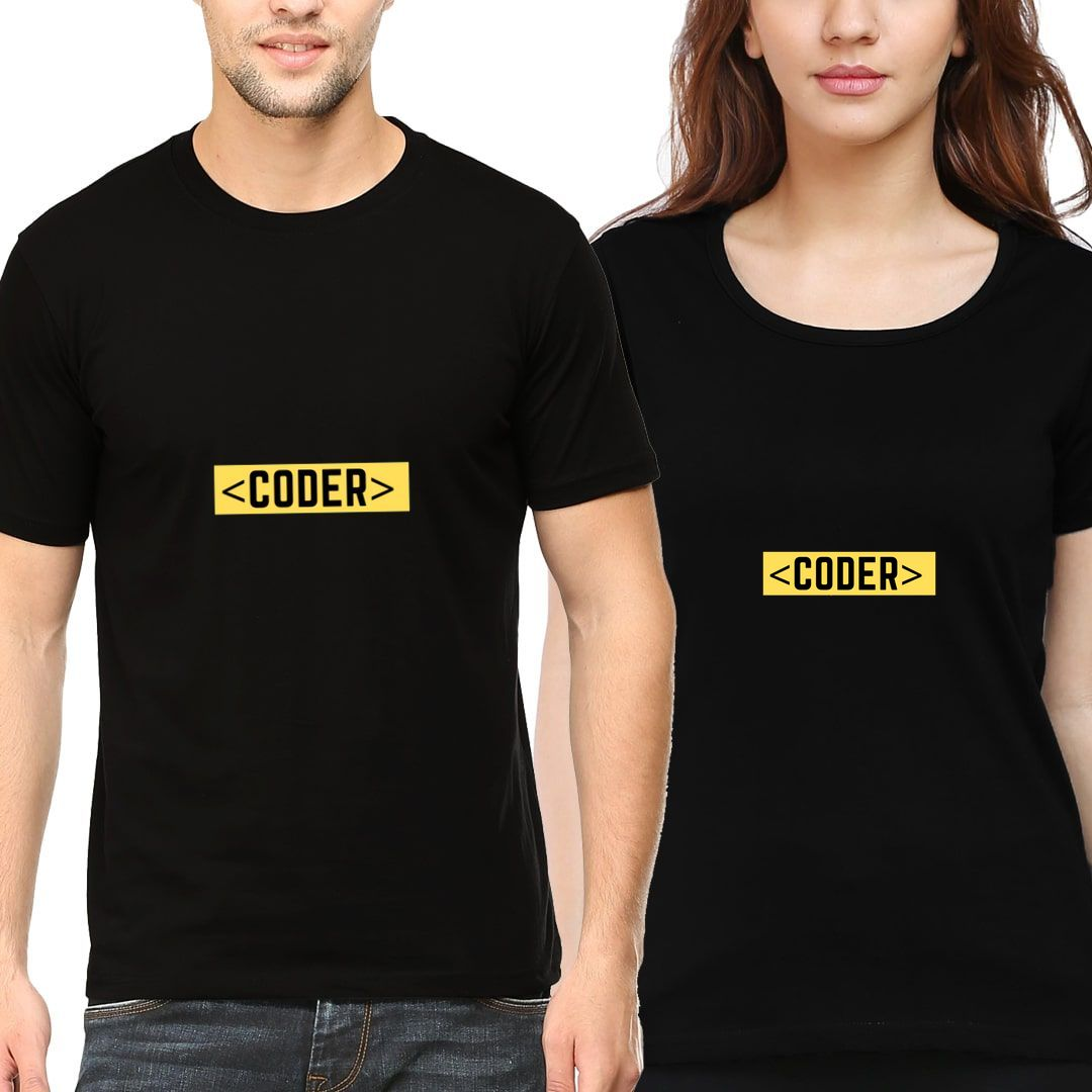 F592f8e9 Coders Gig For Coding Enthusiast Couple T Shirts