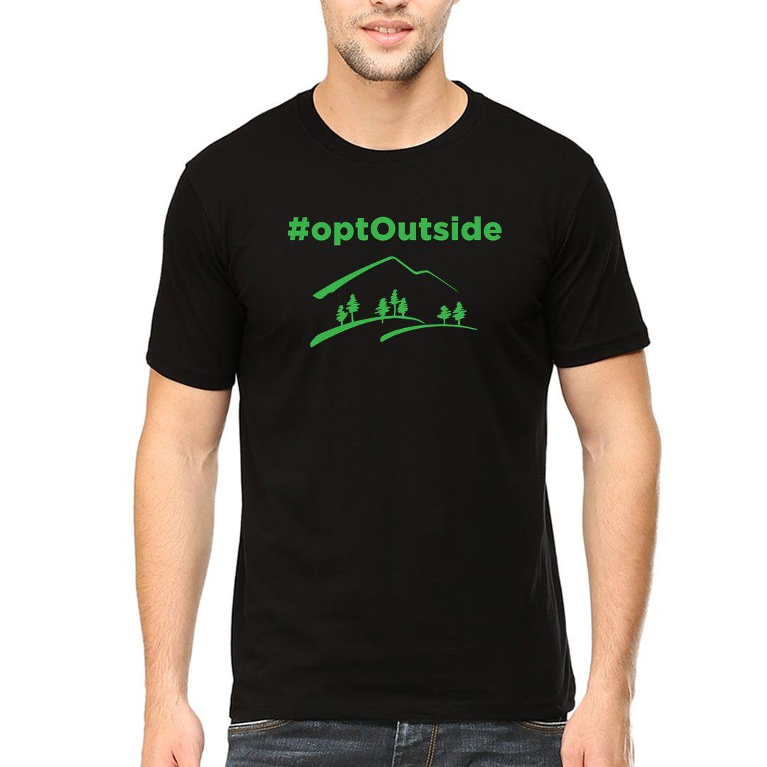 00f91df2 Opt Outside Men T Shirt Black Front