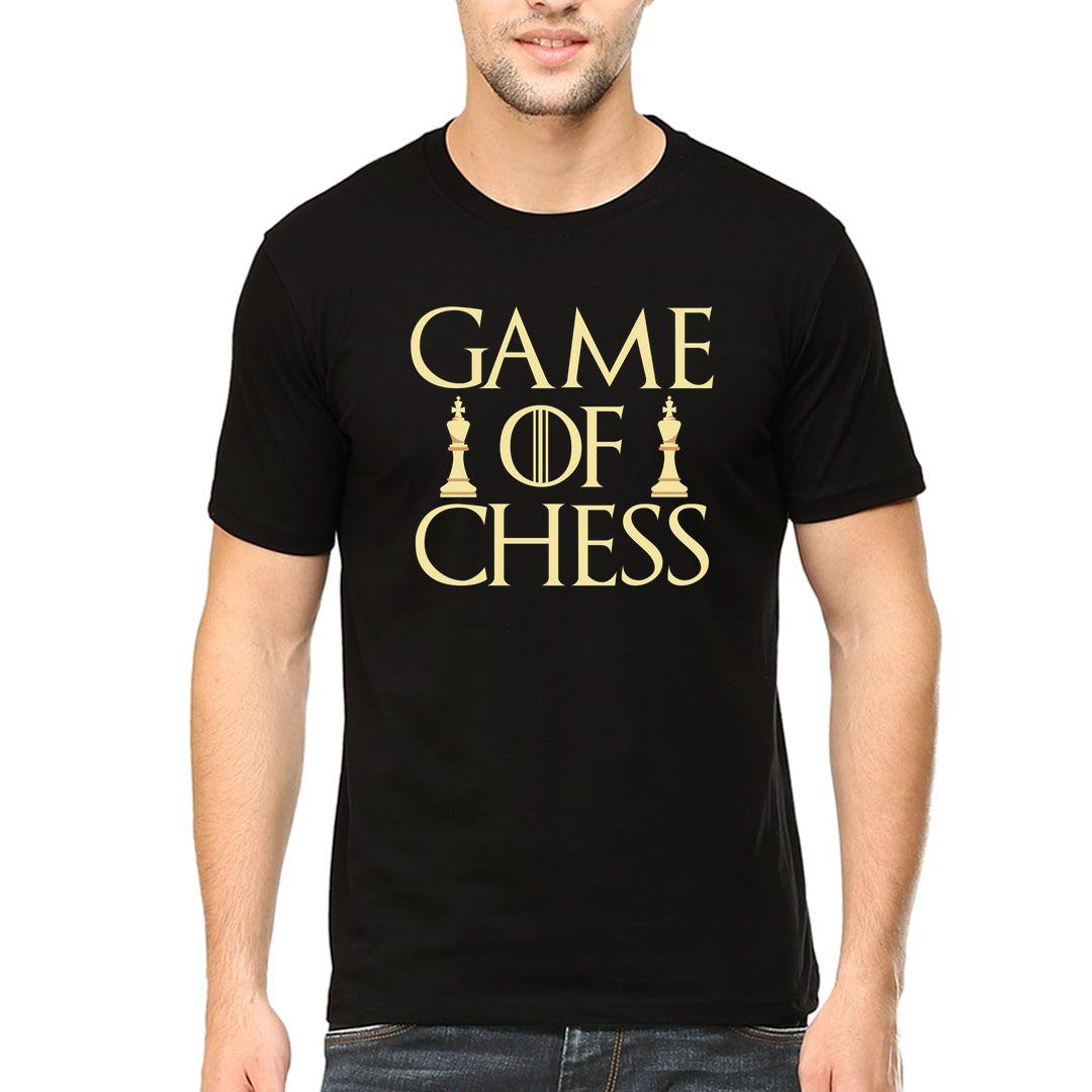 1ff79e51 Game Of Chess Men T Shirt Black Front