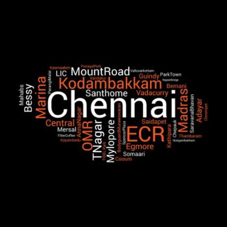 3f3f9d17 chennai places foods and attractions word cloud black
