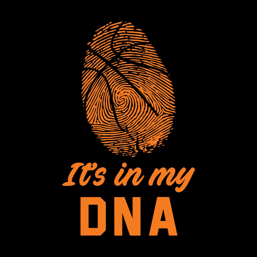 75b33a64 Basketball Its In My Dna Black